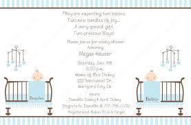 baby shower invitations sayings twins wedding invitation sample