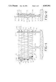 patent us4965961 trellis wire support clip and method of