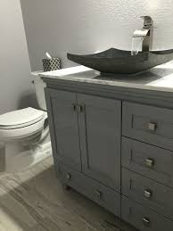 single bathroom vanity with vessel sink pin by donna callaway on bathroom re do pinterest waterfall