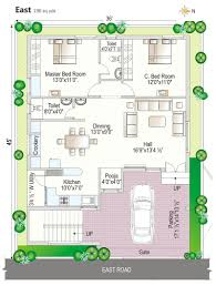 vastu south facing house plan floor plan navya homes at beeramguda near bhel hyderabad