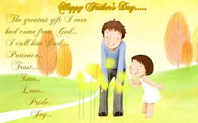 happy fathers day greetings card quotes free hd images