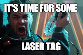 Laser Meme - meme maker laser tag generator