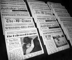newspaper wedding programs unique programs twofoot creative