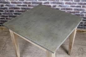 Zinc Top Bar Table Captivating Zinc Top Bar Table With Small Zinc Top Table