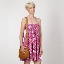 mantaray clothing mantaray purple woven floral dress at debenhams mantaray