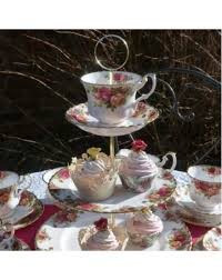 country roses tea set country roses tea set with cake stand