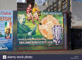 sports mural northern ireland stock photos sports mural northern international wall murals in the republican falls road area of west belfast northern ireland this