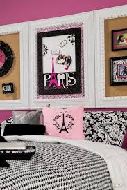 Eiffel Tower Room Ideas 11 Best Pink U0026 Black Bedrooms Images On Pinterest Paris Rooms