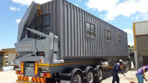 medical clinic converted shipping container africa