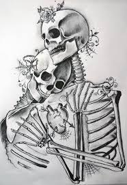 the 25 best skeleton couple tattoo ideas on pinterest skull