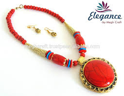 fashion jewelry red necklace images Wholesale indo western fashion jewelry indian wholesale handmade jpg