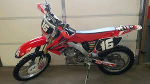 05 honda crf 250 motorcycles for sale
