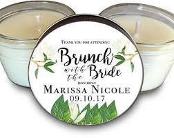 bridal brunch favors bridal shower favor etsy
