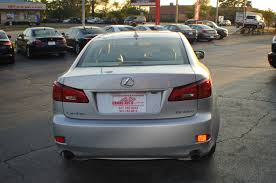 used lexus 2007 2007 lexus 250 silver used sport sedan car sale