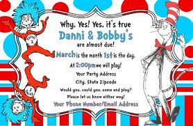 dr seuss birthday invitations dr seuss thing 1 2 birthday party invitations personalized
