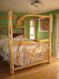 best 25 log bed ideas on pinterest log bed frame rustic wood