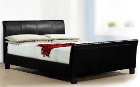wholesale size sleigh beds faux leather sleigh beds for uk cheap