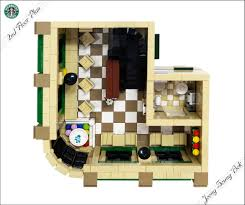 lego ideas lego starbucks cafe modular