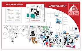 Ok State Campus Map by Parking Southeast Missouri State University