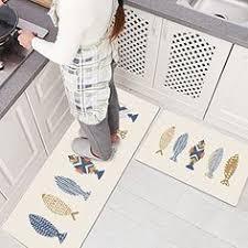 Rubber Backed Carpet Runners Doormats Best Kictchen Rugs Ustide Vintage Floral Teapot Design Kitchen