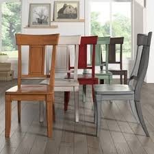 Dining Chair Outlet Eleanor Panel Back Wood Dining Chair Set Of 2 By Inspire Q