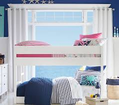 4 Bed Bunk Bed Camden Twin Over Twin Low Bunk Bed Pottery Barn Kids
