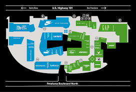 Map Of Alderwood Mall Welcome To Petaluma Village Premium Outlets A Shopping Center