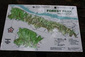 Forest Park Portland Map by Firelane 15 Hike U2013 110 Pounds And Counting