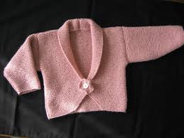 Knitting Pattern For Peony Baby Cardigan Very Quick And Very