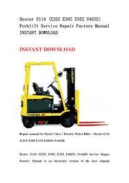 hyster e114 e25 z e30z e35z e40zs forklift service repair factory m u2026