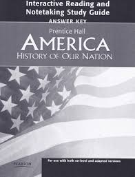 answer key america history of our nation interactive reading
