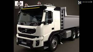 2010 volvo truck volvo fmx tipper truck 2010 3d model from creativecrash com youtube