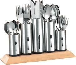 esmeyer pipes 610 217 cutlery holder with 5 stainless steel