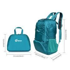 travel backpack odoland packable travel backpack lightweight 35l
