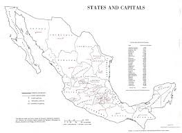 Queretaro Mexico Map by Encyclopedia Entries
