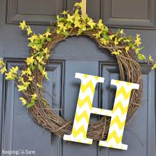 easy diy spring wreath for people who aren u0027t crafty keeping life
