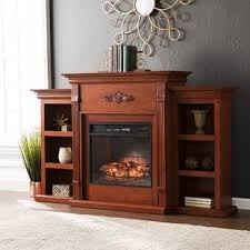Electric Fireplace With Mantel Fireplace Mantel Packages You Ll Wayfair