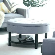 round tufted coffee table grey tufted ottoman related post grey tufted ottoman coffee table