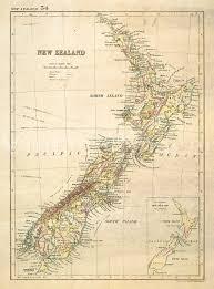 New Zealand Map Old New Zealand Map 1881 Mapsroom Mapsroom