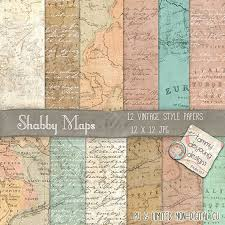 map paper map digital paper map paper printable maps shabby