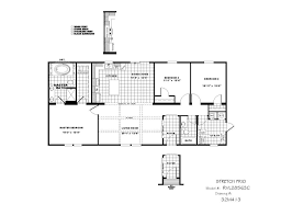 clayton home floor plans clayton waco 2 rvl28563c the stretch frio