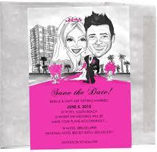 custom save the date card nysketches event entertainment weblog