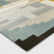 multicolor abstract tufted area rug 5 u0027x7 u0027 project 62 target