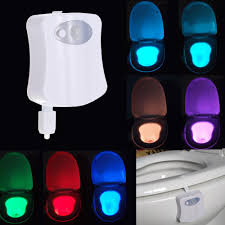 toilet light motion activated colored led toilet light innovæt