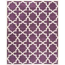 Area Rugs With Purple Rectangle 9 X 12 Purple Area Rugs Rugs The Home Depot