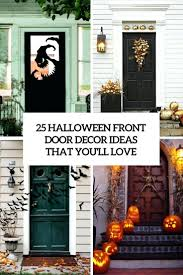 articles with halloween decorations front door tag compact
