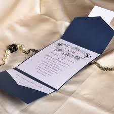 Pocket Wedding Invitations 33 Pocket Wedding Invitations Blue Vizio Wedding