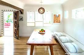 banquette cuisine cuisine banc bois table 7 d angle socialfuzz me