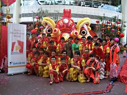 lion dancer book precny 2011 largest lion display singapore book of records at