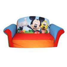 marshmallow furniture 2 in1 flip open sofa mickey mouse club house